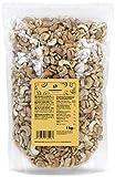 KoRo - Cashewkerne Bruch LP 1 kg - 100 % Naturbelassene Cashew Nüsse Ohne Zusätze Ungesalzen