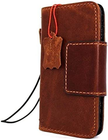 Genuine Italian Popular popular Natural Leather Case for Ma 7 Book sale Wallet iPhone