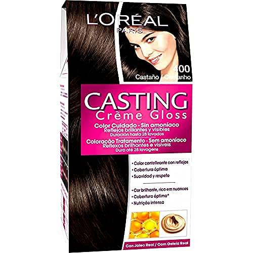 L'óreal Casting Creme Gloss Tinture per capelli, 400 castano (marrone), 600 gr