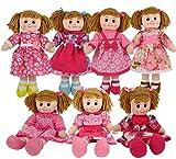 ML muñeca de Trapo de 50cm para niñas, Buen Gran Regalo para cumpleaños y Navidad (Rosa)...