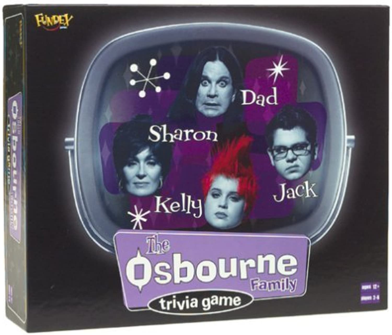 The Osbourne Family Trivia Game by Fundex by Fundex