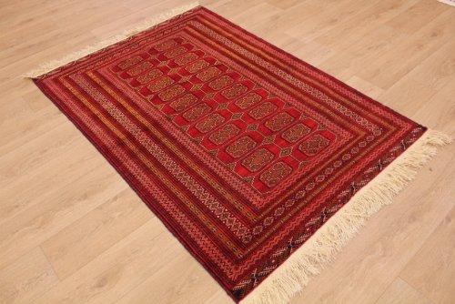ETFA Teppiche Orientteppich Tekke Turkmen Wollteppich 180x125 cm