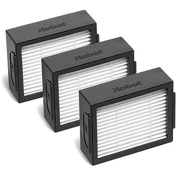 IROBOT – Pack de 3 filtros de alta eficiencia para aspiradora Robot Roomba SérIE E & I: Amazon.es: Grandes electrodomésticos