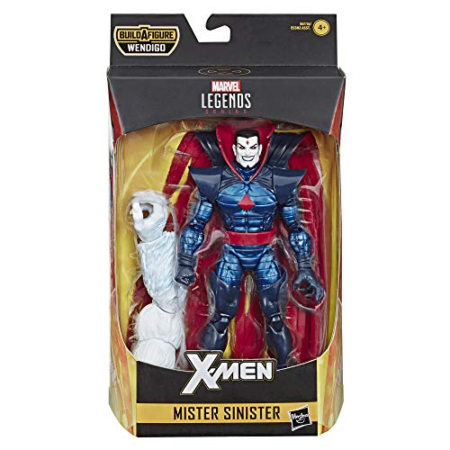 Marvel Legends Serie 6 Zoll Action Mister Sinister Spielzeug (X-Men/X-Force Collection) - mit Wendigo Build-a-Figure Teil