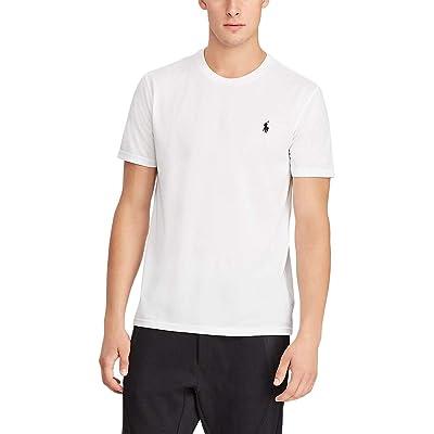 Polo Ralph Lauren Big & Tall Big Tall Perf Poly Jersey T-Shirt (Pure White/Black PP) Men