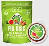 FitFit Fruit & Nuts Disc Snacks   No-Added Sugar, Dairy Free   6 Discs Individually packed in a Bag...