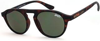 نظارة شمسية للجنسين من سوبر دراي - تورتويس/اخضر - موديل SDPALMSPRINGS-102، بحجم 49-19-145 ملم