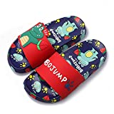 Anddyam Kids Anti-Slip Slipper Boys Pool Sandals Kids Water Shoes for Beach (Red Dinosa, Numeric_10)