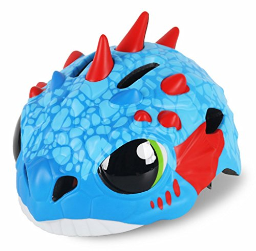 Buy Discount Goah Cute Lovely Dinosaur Dragon Blue Kids Girl Boy Toddler Children Cycling Street Roa...