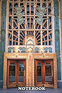 Notebook: Beautiful Old Entrance To The Marine Building In Vancou , Journal for Writing, College Ruled Size 6
