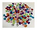 Strass Paradise da 25mm a 20mm grandi patch Pietre preziose Pietre da cucire Cucire sulle pietre glitter Glitter adesivi Diamanti Strass colorato Kit Craft Strass Pietre acriliche Sew on Stones