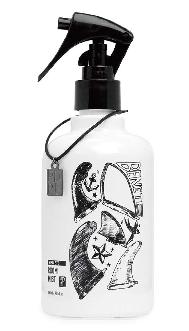路地市長例外ノルコーポレーション ルームミスト PADROL BENETE(パドロール ベネット) ホワイトムスクの香り 280ml PAD-2-01