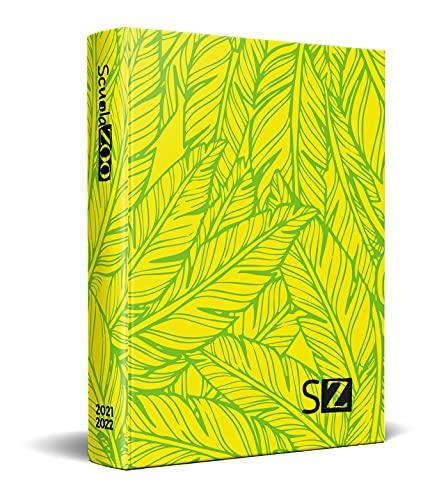 ScuolaZoo Diario scolastico 2021-2022, Special Edition Jungle (Giallo)