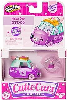 Shopkins Cutie Cars Series 2 3-Wheel Wonder Kissy Cab with Exclusive Mini Shopkin QT2-08