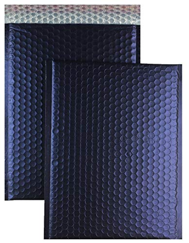 OfficeDepot Luftpolstertaschen DIN C3 450 x 320mm - 100Stk, gepolstert, glänzend dunkelblau, selbstklebend, Polstertaschen Versandtaschen Briefumschlag Kuverttaschen Kuvert Postversand Paketversand