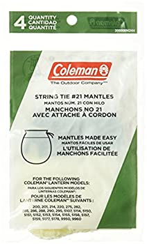 Coleman Tie-Style Mantle 4-Pack