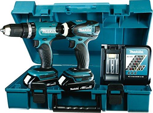 Preisvergleich Produktbild Makita Akku-Set 18 V,  DHP453 und DTD146