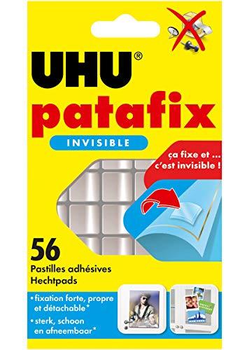 UHU Patafix, pasta da fissare, 56 pastiglie, invisibile