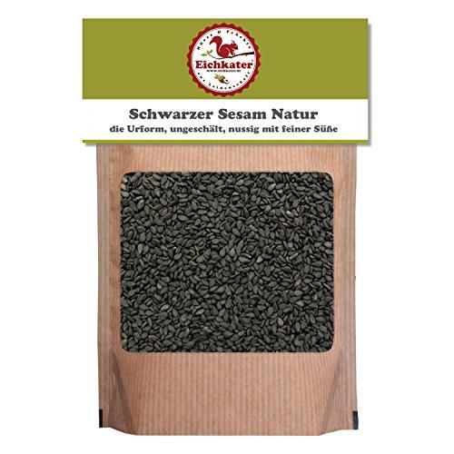 Eichkater Schwarzer Sesam Natur 1er-Pack (1x1000 g)