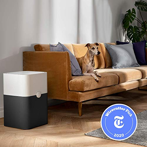 Blueair Blue Pure 211+ Air Purifier 3 Stage with Two Washable Pre, Particle, Carbon Filter, Captures Allergens, Odors, Smoke, Mold, Dust, Germs, Pets, Smokers, Large Room, Blue