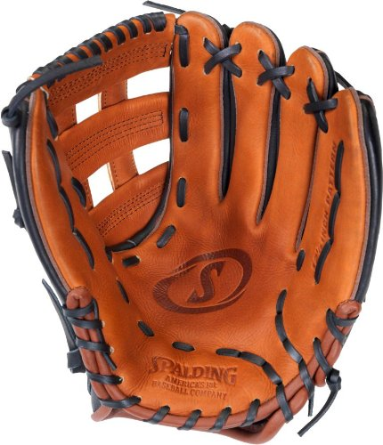 Spalding Fast S Series 12.5' H-Web Fielding Glove (Left-Handed Thrower)