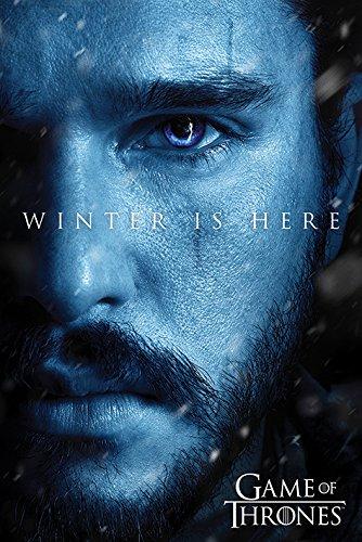 Spiel der Throne 'Winter ist hier - Jon' Maxi Poster,61 x 91.5 cm