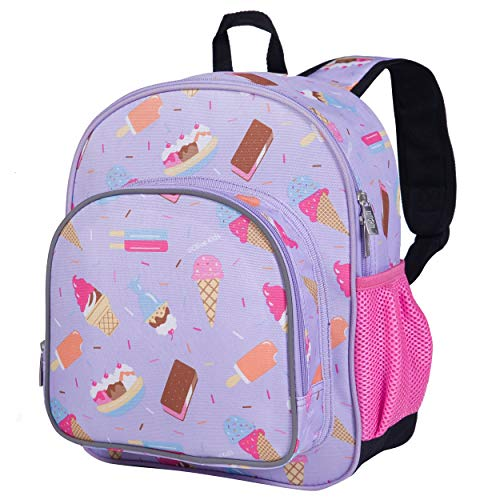 Wildkin 12 Inches Backpack for Toddlers, Boys and Girls, Ideal for Daycare, Preschool and Kindergarten, Perfect Size for School and Travel, Mom's Choice Award Winner, Olive Kids (Sweet Dreams)