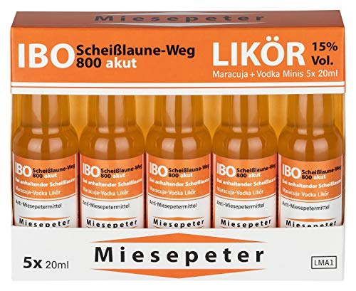 Miesepeter Likör Minis – IBO Scheißlaune-Weg 800 akut - 3