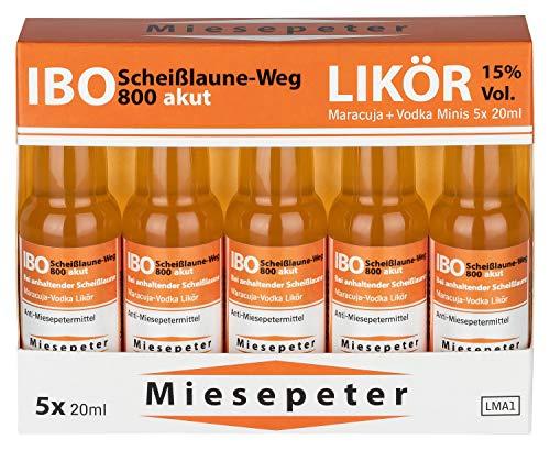 Miesepeter Likör Minis – IBO Scheißlaune-Weg 800 akut - 2