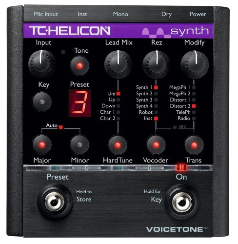 TC-Helicon VoiceTone Synth Vocal Effects Processors