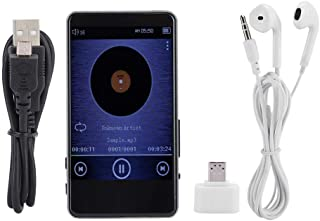 Music Player, C88 8G 3.0in IPS Screen Bluetooth MP3 Support Bluetooth, Support E-Book Voice Reading Mp3, 15 Hours Metal Mu...
