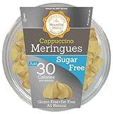 Krunchy Melts – Sugar Free Meringues – Cappuccino Flavor – 2 Oz Tub