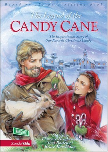 The Legend Of The Candy Cane DVD