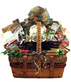 The Ultimate Gourmet, Large Gift Basket For A Group Or Family - Overflowing with Decadent Treats And Savory Snacks