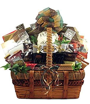 Gift Basket Village The Ultimate Gourmet For A Group Or Family Loaded with Sweet Treats & Savory Snacks Assorted Original 27 Piece Set