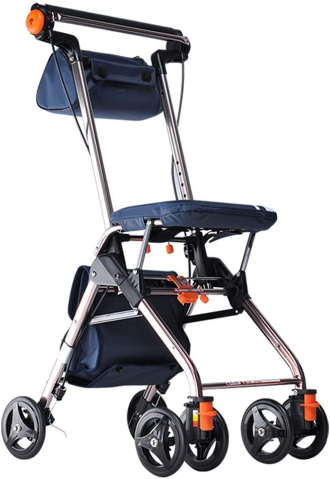 Online limited product Walkers for seniors Walking Frame Four Rollator Wheeled A surprise price is realized w Walker