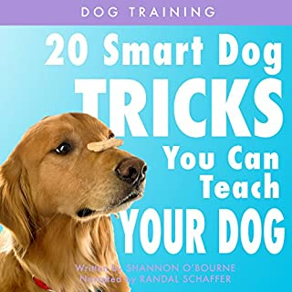 Dog Training: 20 Smart Dog Tricks You Can Teach Your Dog audiobook cover art