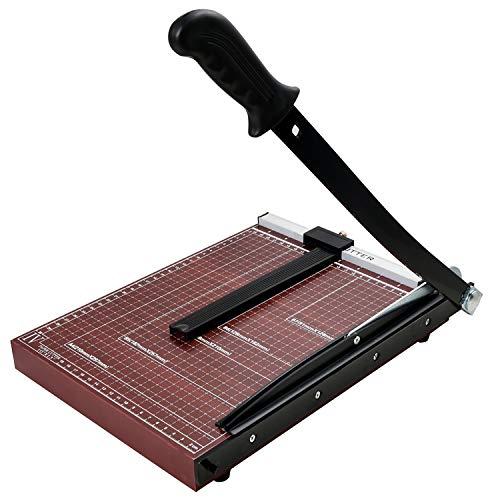 YZSS Papierschneider Schneidemaschine 300mm * 250mm Für Unternehmen Für zu Hause Für Unternehmen A4 Hölzern