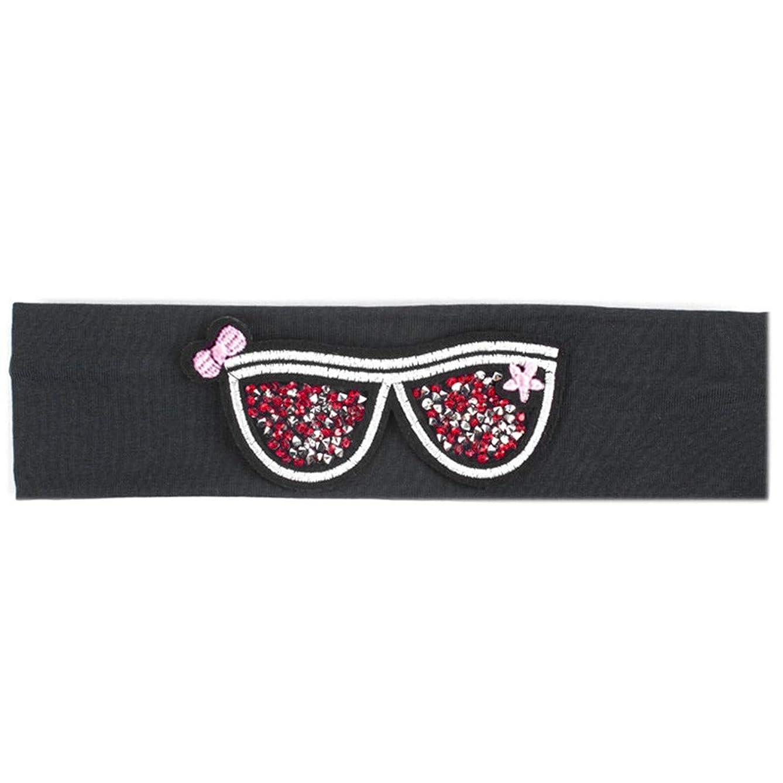 Children's Sunglasses Headb Rhinestones Glasses Flat Stretch Headb s