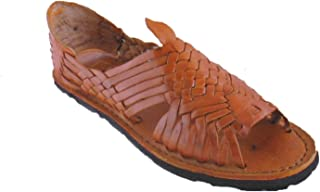 Mexican Sandals-Women's Genuine Leather Quality Handmade Sandals Huarache