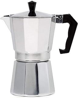 Moka Expresso Cafetière italienne en aluminium Gris 12 tasses 600 ml