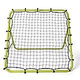 Football Master ™ Fluorescent Green Single Sided Multi Skills Rebounder Training Aid Target