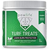 pawlife Grass Saver Treats for Dogs  120 Veterinarian Formulated Soft Chews with Apple Cider Vinegar, Cranberry, Probiotics & Digestive Enzymes  Dog Pee Lawn Spot Treatment Caused by Dog Urine