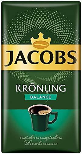 Jacobs KRÖNUNG BALANCE gemahlen 18x 500g (9000g) - Jacobs Filterkaffee, Kaffee