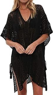 Best black crochet dress beach Reviews