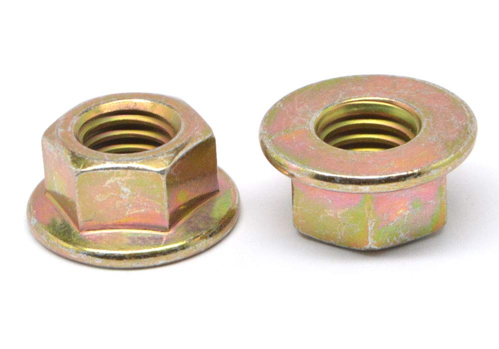 3 8-24 Fine Thread Grade G Flange Recommended All Locknut Metal Mediu Bargain sale Stover