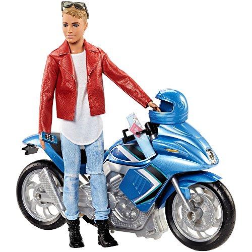Barbie Ken mit Motorrad Pink Passport FNY31 .