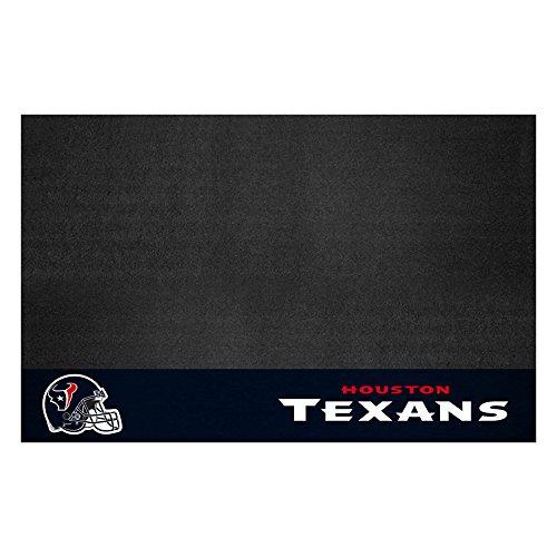 FANMATS 12186 NFL Houston Texans Vinyl Grill Mat,Black,26