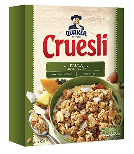 Quaker, Cereal granola (Cruesli Fruta) - 375 gr.