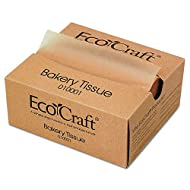 EcoCraft Interfolded Soy Blend Wax Tissue NK6T. Natural. Pack 1000